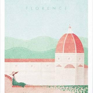 Plakát Travelposter Florence, A2