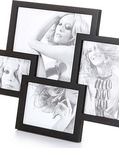 Černý stolní fotorámeček Tomasucci Collage