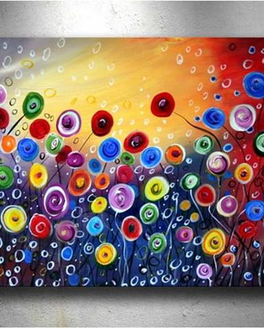 Obraz Tablo Center Surreal Flowers, 60 x 40 cm