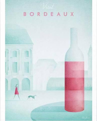 Plakát Travelposter Bordeaux, A2