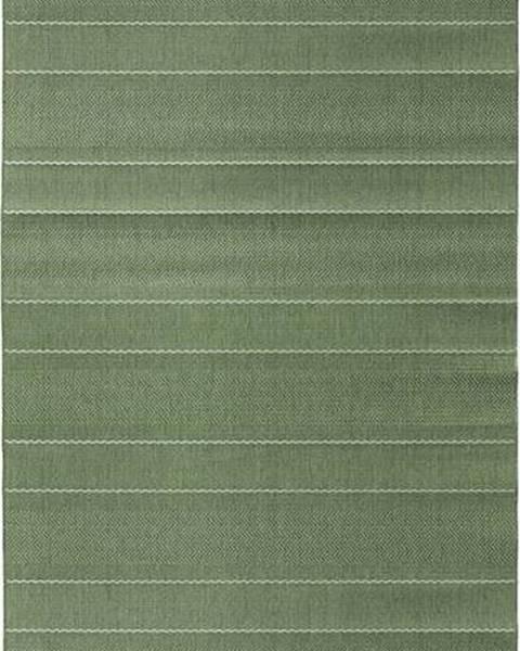 Hanse Home Zelený běhoun vhodný i na ven Hanse Home Sunshine, 80 x 200 cm