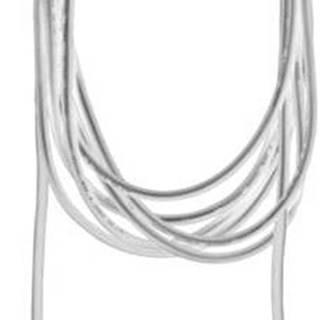 Bílý kabel s koncovkou pro žárovku Best Season Cord Ute, délka 2,5 m
