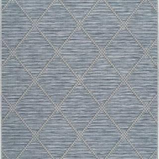 Modrý venkovní koberec Universal Cork, 115 x 170 cm