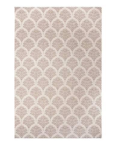 Béžový venkovní koberec Ragami Moscow, 80 x 150 cm