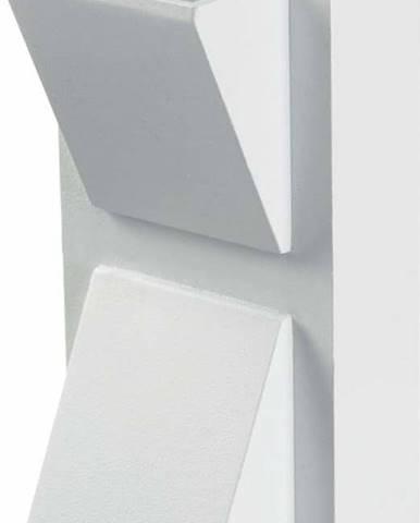 Bílé nástěnné svítidlo Markslöjd Carina, 14 x 8 cm