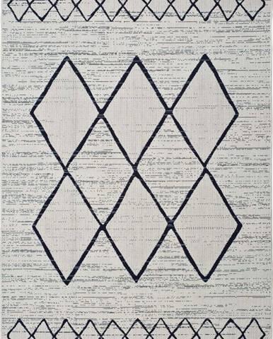 Bílošedý venkovní koberec Universal Elba, 160 x 230 cm