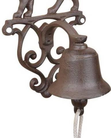 Litinový nástěnný zvonek s motivem kočky Esschert Design