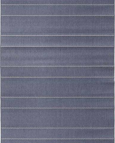 Modrý běhoun vhodný i na ven Hanse Home Sunshine, 80 x 200 cm