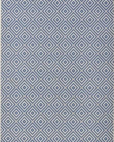 Modrý venkovní koberec Bougari Karo, 160x230cm