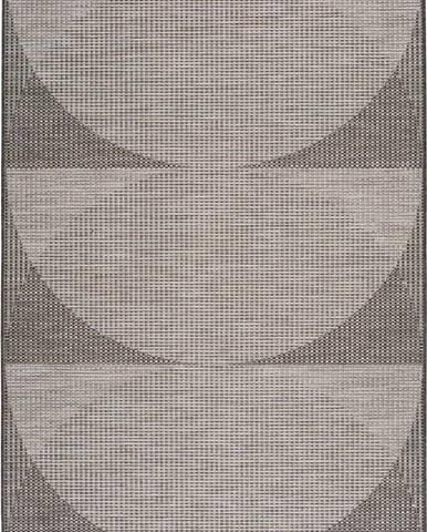 Šedý venkovní koberec Universal Biorn, 130 x 190 cm