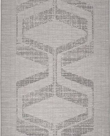 Šedý venkovní koberec Universal Weave Misana, 155 x 230 cm