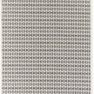 Černý venkovní koberec Floorita Stuoia, 155 x 230 cm