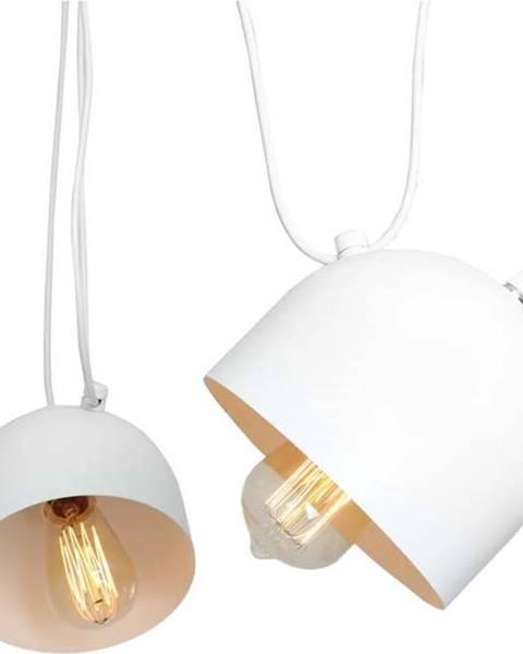 Custom Form Bílé závěsné světlo pro 2 žárovky Custom Form Popo