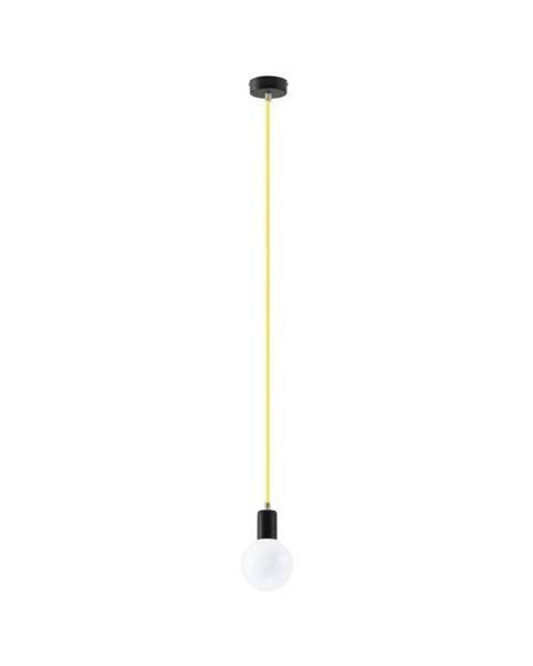 Nice Lamps Žluté závěsné svítidlo Nice Lamps Bombilla