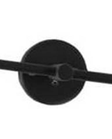 Černá nástěnná lampa pro 2 žárovky Custom Form Twigo, šířka43cm