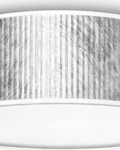 Stropní svítidlo ve stříbrné barvě Bulb Attack Tres, Ø30cm