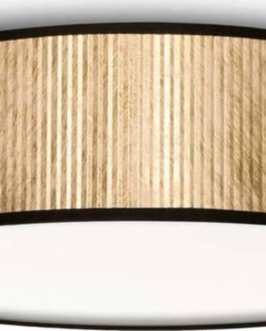 Stropní svítidlo ve zlaté barvě Bulb Attack Tres, Ø40cm