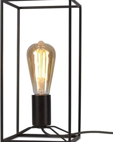 Citylights Černá stolní lampa Citylights Antwerp, výška30cm