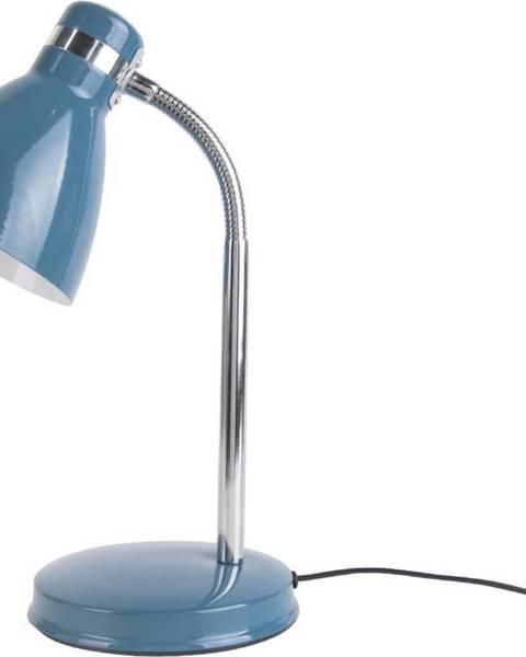 Leitmotiv Modrá stolní lampa Leitmotiv Study Blue