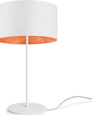 Bílá stolní lampa Sotto Luce MIKA Bronze M,⌀36cm