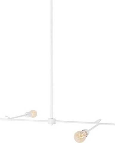 Bílé závěsné svítidlo Custom Form Triso Quadro