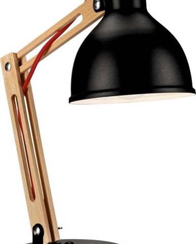 Černá stolní lampa Lamkur Marcello