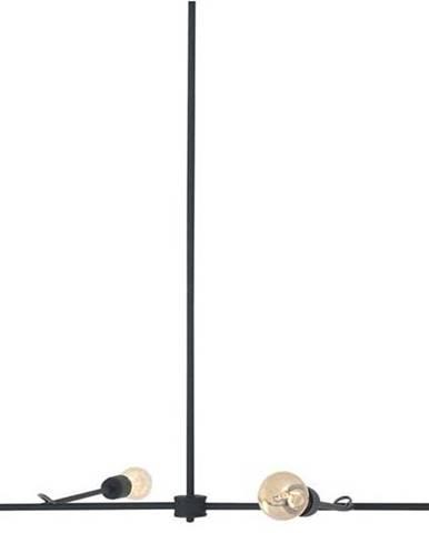 Černé závěsné svítidlo Custom Form Triso Quadro