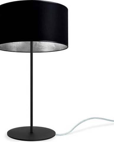 Černo stolní lampa Sotto Luce MIKA Silver M,⌀36cm