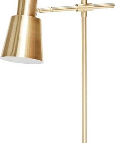 Stolní lampa s mramorovou základnou Hübsch Agneta