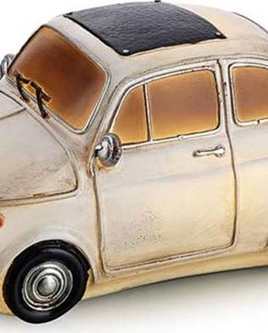 Bílá stolní světelná dekorace ve tvaru auta Markslöjd Nostalgi Ford 500