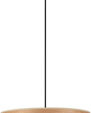 Závěsné svítidlo z třešňové dýhy Sotto Luce TSURI XL, ø 45 cm