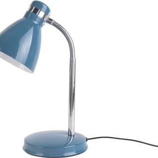 Modrá stolní lampa Leitmotiv Study Blue