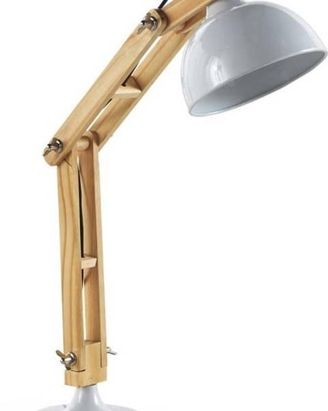 Geese Bílá stolní lampa Geese Wooden