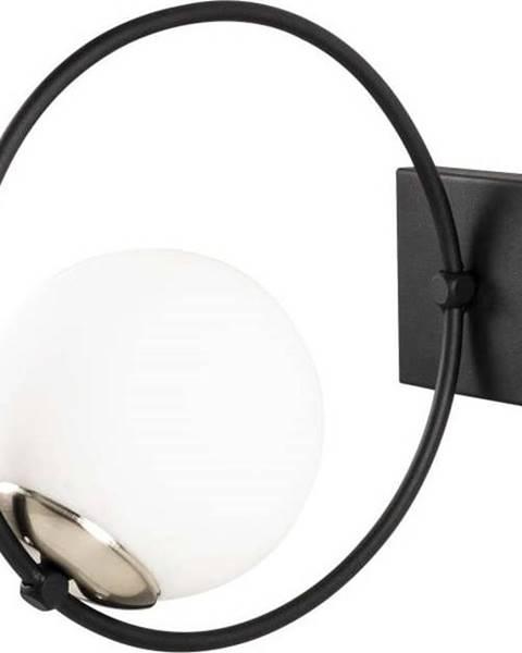 Opviq lights Černé kovové nástěnné svítidlo Opviqlights Aria