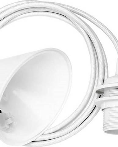 Bílý závěsný kabel ke svítidlům UMAGE Cord, délka210cm
