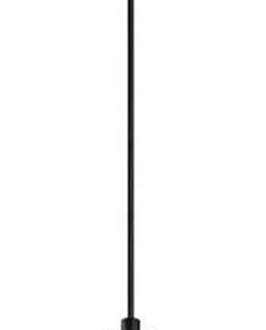 Černé kovové závěsné svítidlo Opviqlights Mando