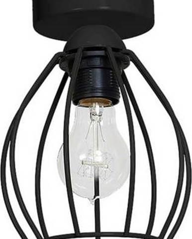 Černé stropní svítidlo Homemania Don Uno