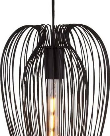 Černé stropní svítidlo Leitmotiv Lucid