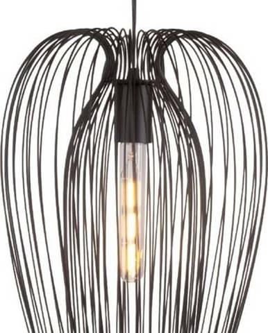 Černé stropní svítidlo Leitmotiv Lucid Large