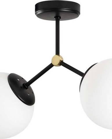 Černo-bílé stropní svítidlo Opviq lights Damar