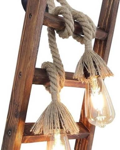 Dřevěné nástěnné svítidlo Merdiven