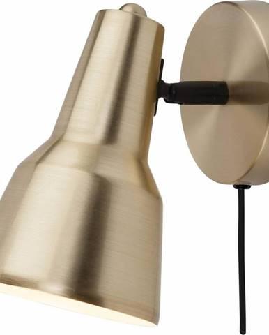 Nástěnná lampa ve zlaté barvě Citylights Valencia