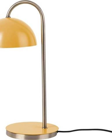 Okrově žlutá stolní lampa Leitmotiv Decova