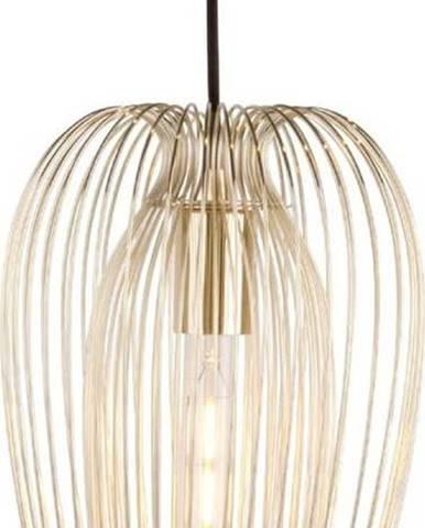 Pozlacené stropní svítidlo Leitmotiv Lucid Large