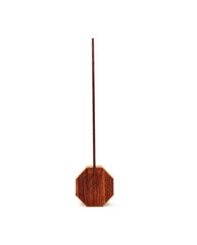 Stolní lampa v dekoru ořechového dřeva Gingko Octagon