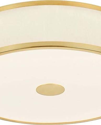 Stropní LED svítidlo Trio Agento ve zlaté barvě, ø 40 cm
