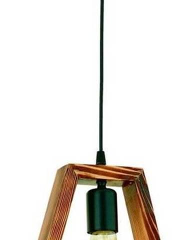 Závěsné svítidlo z habrového dřeva Geometrik Triangle