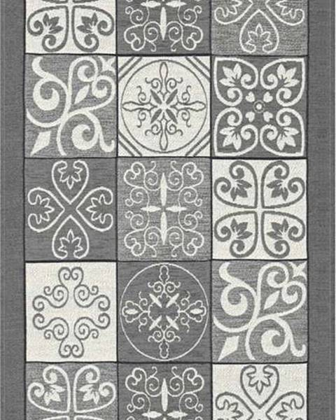 Floorita Šedý běhoun Floorita Maiolica, 55 x 240 cm
