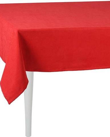 Červený ubrus Mike&Co.NEWYORK Honey Simple, 140 x 140 cm
