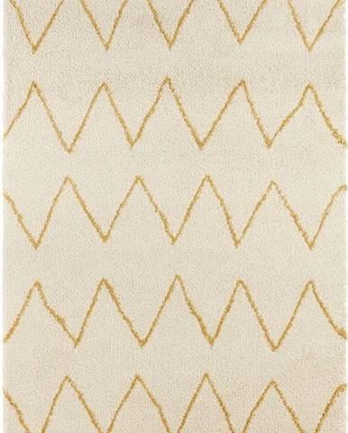 Krémový koberec Mint Rugs Ruby, 120x170cm